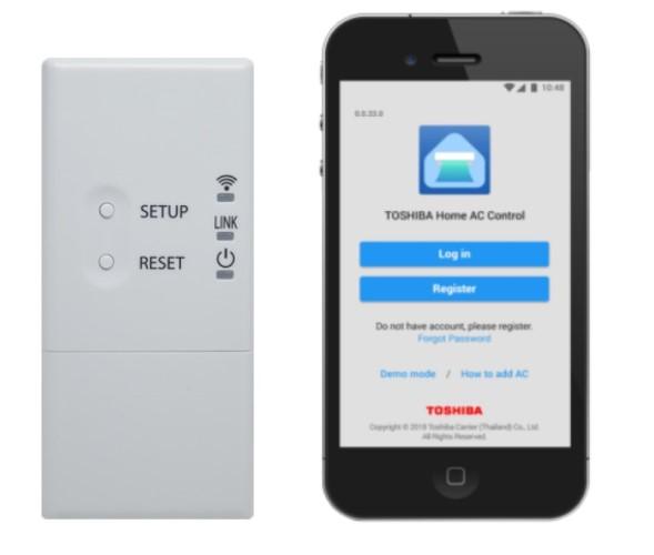 Ασύρματος προσαρμογέας & Home AC Control app